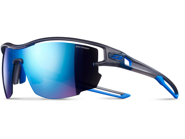 Julbo Aero Spectron 3CF Occhiali da sole, translucent gray/blue-blue
